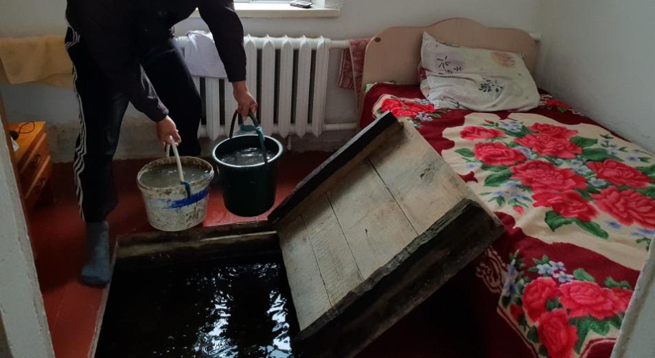 В Павлодаре ищут точки подтопления