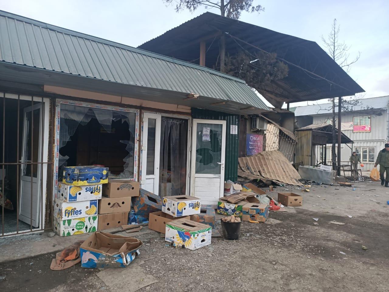 Разрушенные во время беспорядков на юге Казахстана дома будут восстановлены – вице-премьер Сапарбаев