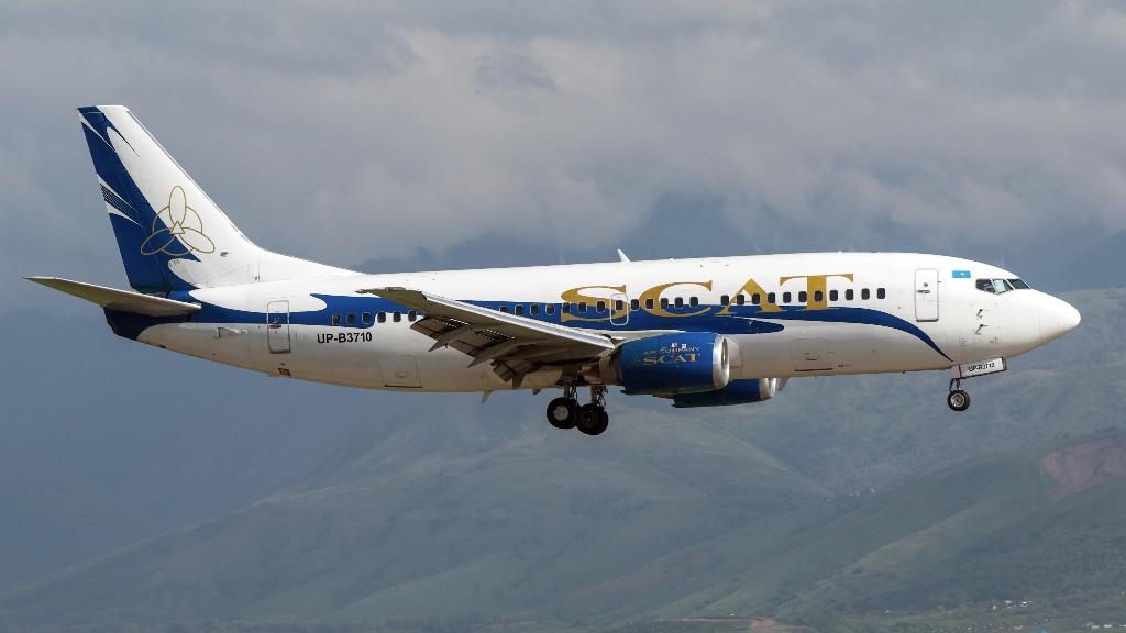 Рейс из Нур-Султана в Прагу с июня запускает SCAT