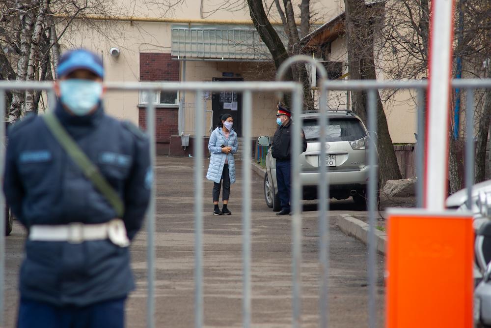 В Алматы сняли карантин с 340 зон очага коронавируса