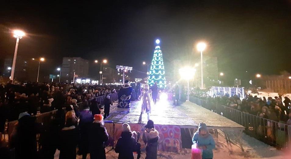 Накануне Нового года в городе первого президента произошла крупная авария