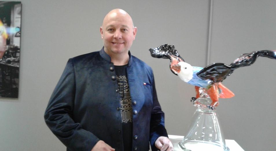 В Кастеевке открылась выставка художественного стекла из Чехии