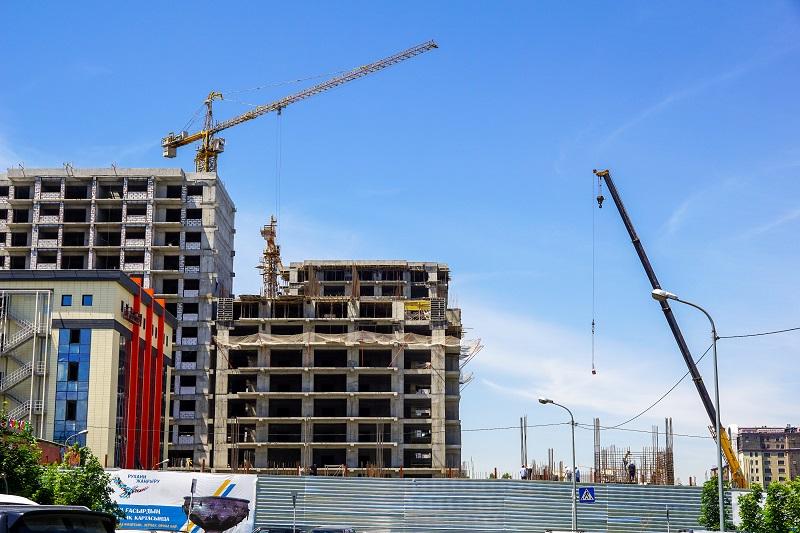 14,1 млн кв. метров жилья планируется построить в Казахстане