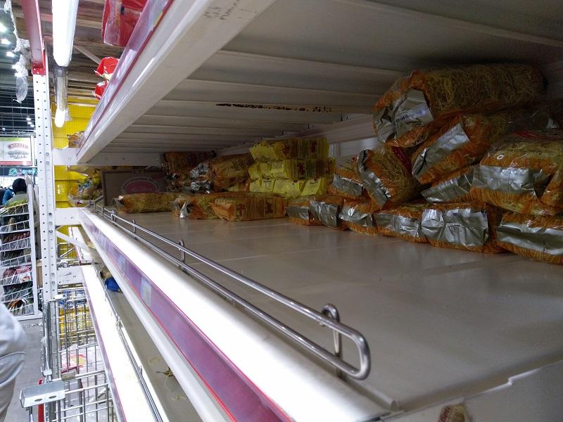 Власти Алматы призывают горожан не устраивать ажиотаж в продовольственных магазинах из-за угрозы коронавируса