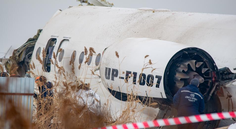 Токаев поручил ускорить выплаты госпомощи пострадавшим в авиакатастрофе Bek Air