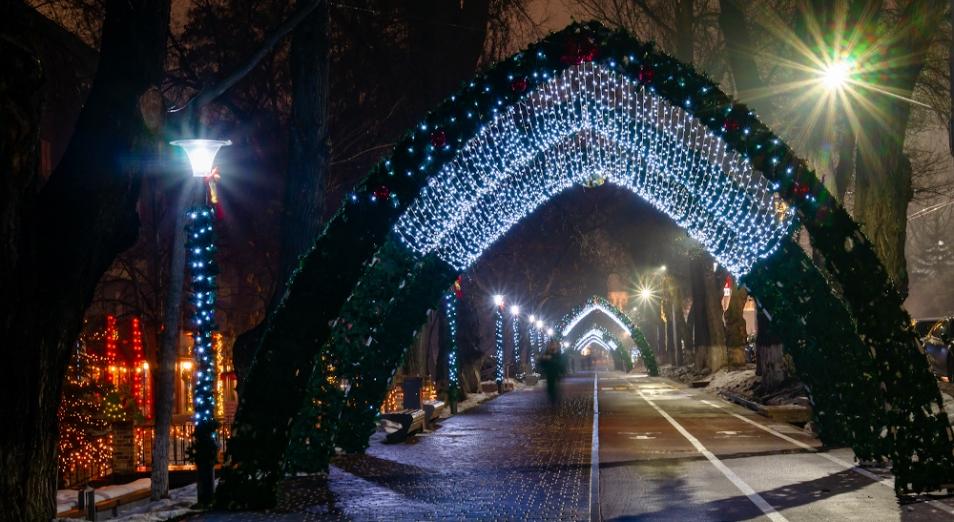На новогоднее оформление столицы потратят свыше 310 млн тенге