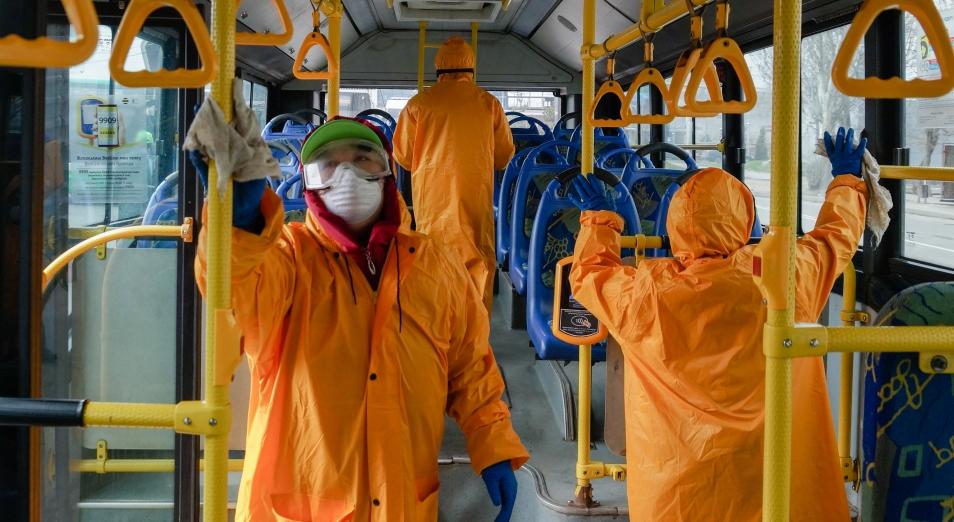 74 млн тенге направит акимат Алматы на дезинфекцию автобусов