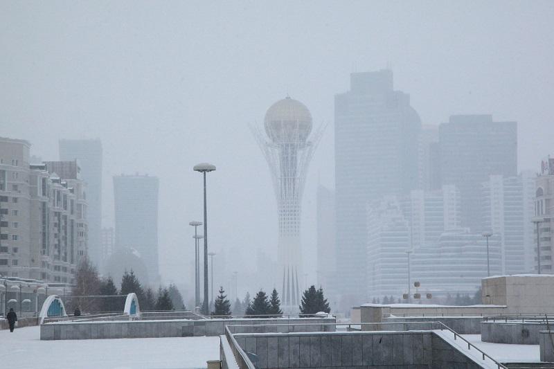 В январе в Казахстане ожидается две волны холода