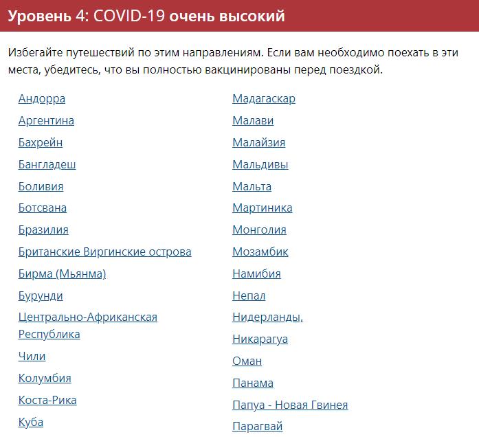 США включили Казахстан с список стран, куда лучше не ездить